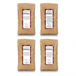 Proefpakket Arabica koffie 4x 250 gram